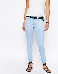 Blank Nyc Overdyed Skinny Jeans Blue