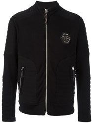 Philipp Plein Important Bomber Jacket Black