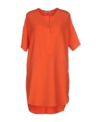 Le Ragazze Di St. Barth Dresses Short Dresses Women Orange