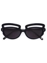 Selima Optique 'Paola Pivi X Lizworks' Sunglasses Black