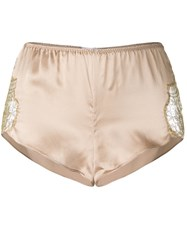 Gilda And Pearl Gina Tap Pants Nude Neutrals