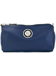 Versus Lion Head Wash Bag Blue