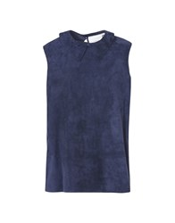 8 Topwear Tops Dark Blue
