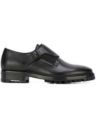Lanvin Monk Strap Shoes Black