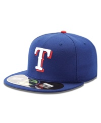 New Era Mlb Hat Texas Rangers On Field 59Fifty Fitted Baseball Cap