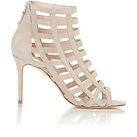 Barneys New York Women's Caged Sandals Nude