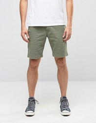 Denim And Supply Ralph Lauren Chino Shorts In Green Army