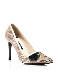 Alice Olivia Dina Crystal Stacey Pointed Pumps