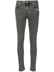 Off White Skinny Jeans Grey