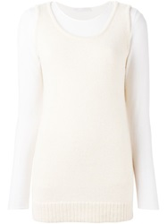 Societe Anonyme 'Supertank' Top Nude And Neutrals