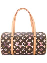Louis Vuitton Vintage Papillon 30 Monogram Tote Brown