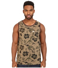 Matix Clothing Company Brava Tank Top Knit Army Men's Clothing Green