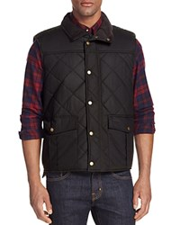 Barbour Boxley Quilted Waxed Cotton Gilet Vest Light Olive