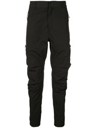 Balmain Chino Cargo Trousers Black