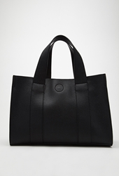 Forever 21 Faux Leather Combo Mini Tote