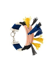 Isabel Marant The Wailers Tassel Bracelet Pink Purple