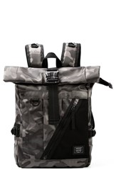 Men's Harvest Label 'Nighthawk' Rolltop Backpack Green Camo
