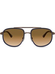 Persol Aviator Shaped Sunglasses 60