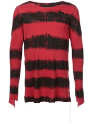 Fagassent Dyed Sweatshirt Red