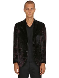 Etro Paisley Viscose And Silk Satin Jacket Black Multi