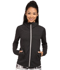 Lole Unite Cardigan Black Heather Women's Sweatshirt