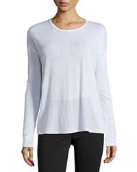 J Brand Ready To Wear Dolman Long Sleeve Tee White