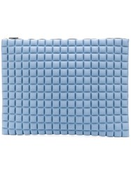 No Ka' Oi Waffled Clutch Blue