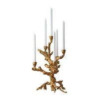 Pols Potten Apple Tree Candle Holder Gold