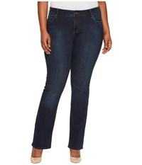Kut From The Kloth Plus Size Natalie High Rise Bootcut In Beneficial Euro Base Wash Beneficial Euro Base Wash Women's Jeans Blue