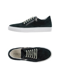 Doucal's Low Tops And Trainers Dark Green