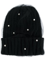 Ca4la Double Layer Beanie Black