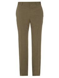 Christophe Lemaire Wool Blend Trousers Khaki