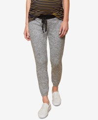 Motherhood Maternity Jogger Pants Grey