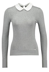 La City Jumper Gris Clair Light Grey
