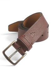 Men's Big And Tall Trask 'Elkhorn' Belt Clay Elk