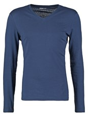 Pier One Long Sleeved Top Dark Blue