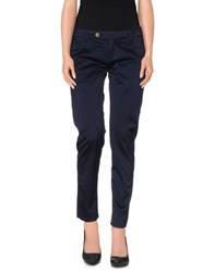 True Tradition Trousers Casual Trousers Women Dark Blue