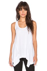 Wilt Panelled Slouchy Tank White