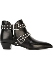 Marc By Marc Jacobs 'True Rebel Carroll' Ankle Boots Black