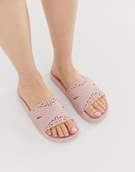 Ted Baker Pink Cut Out Detail Slider