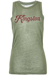 Etoile Isabel Marant Kingston Tank Green