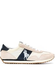 Ralph Lauren Polo Logo Sneakers White