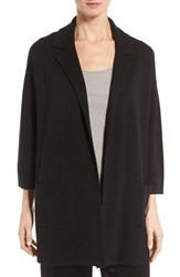 Eileen Fisher Women's Silk And Organic Cotton Jacket
