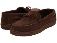 Old Friend Wisconsin Chocolate Slippers Brown