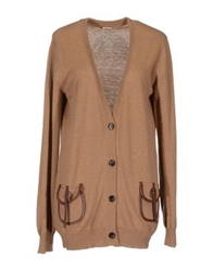 Galliano Cardigans Camel