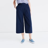 Madewell Mayfield Culotte Pants Classic Desert