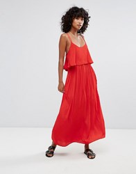 D.Ra Brigette Maxi Dress Red