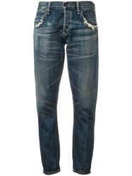 Citizens Of Humanity Cropped Jeans Blue