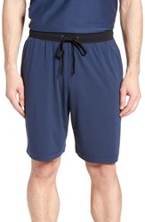 Daniel Buchler Pima Cotton And Modal Lounge Shorts Navy