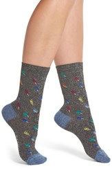 Paul Smith Fantasia Ice Lolly Crew Socks Black Pop